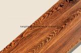 Una madera del grado del entarimado de madera de la ceniza/del suelo laminado