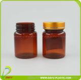 frasco plástico da medicina do animal de estimação 60ml com tampão plástico