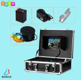 """видеокамера DVR искателя 7 """" рыб камеры рыболовства TFT подводная"""
