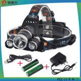 二重T6ヘッドライト、登山ランプ、安全灯