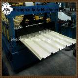 Rodillo trapezoidal del panel de la azotea/de pared que forma la máquina