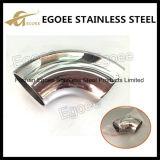 Balustrade du coude 304L d'acier inoxydable coude de 45 degrés/coude du conduit/coude conduit en acier