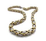 [316ل] حارّ يبيع [بزنتين] [تيتنيوم] فولاذ عقد مجوهرات ملكيّة ذكريّ ([سّنل2650])