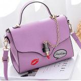 Da bolsa de couro acessória das mulheres do plutônio da bolsa das senhoras da flor da forma preço de grosso Sy8476