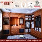 Самомоднейшие деревянные конструкции шкафа спальни (GSP9-001)