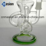 再資源業者のガラス煙る配水管(BY010)