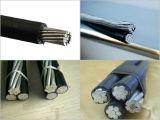 Двухшпиндельный, Triplex, квадруплексный воздушный связанный кабель с ASTM, стандартом BS
