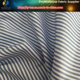 Tela popular de la camisa del T/C, tela del poliester/de la camisa de la raya de Cottn
