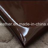 Het Synthetische Leer van het Leer van het octrooi Pu voor de Schoenen hx-B1709 van de Handtassen van Vrouwen
