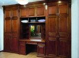Крася шкаф спальни твердой древесины (GSP9-004)