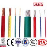 Conducteur de cuivre solide avec le fil isolé par PVC à BS6004