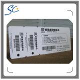 Cartão do PVC do código de barras do código de Qr