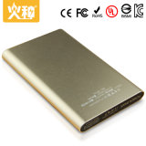 La promoción para la muestra de la batería de la potencia de la aleación de aluminio de la venta 4000mAh libera