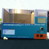 0-100kv変圧器オイルのBdvのテストキット、80kv変圧器オイルのBdvのテスター
