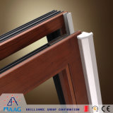 Bon profil de guichet en aluminium de garantie des prix pour la construction