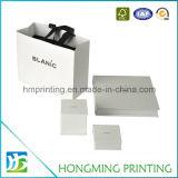Logotipo feito sob encomenda caixas de presente de papel impressas da jóia