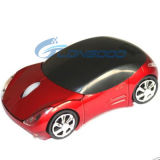 Leuke Wireless Optical Car Mouse 1600dpi 3D USB 2.4G Laptop