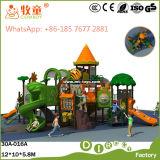 Напольный комплект спортивной площадки с скольжением качания (WOP-046B)