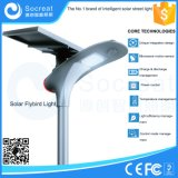 vendas diretas da fábrica de 15W 20W, certificação da UE, materiais compostos, lâmpada de rua solar