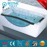 Bañera de baño de masaje de esquina de acrílico estilo caliente (BT-A390)