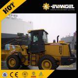Carregador XCMG Lw400k da roda dianteira de 4 toneladas