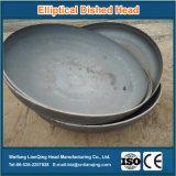 Головка стали углерода эллиптическая Dished