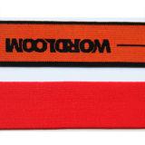Correas elásticos del telar jacquar de encargo con su insignia para la ropa interior