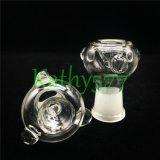 Nueva Claro 14mm 18mm Mujer Hombre Bowl por fumar pipa de narguile Accesorios de cristal