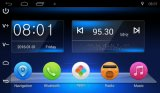 Navegação capacitiva cheia do carro do GPS da tela de toque do modelo 2017 o mais novo com o rádio Android 2DIN de Bluetooth