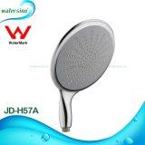 Cromo contemporâneo chuveiro chapeado da mão do ABS para o banheiro