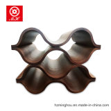 5 botellas Undulating Bentwood vino estante para el vino Display Rack