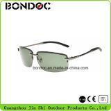 Lunettes de soleil de Mens de promotion de lunettes de soleil d'aviateurs de sport