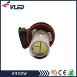12V 차를 위한 자동 LED 전구 H11 H16 H3 80W 안개등