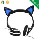 Bunte nette Stereokind-glühende Kopfhörer