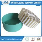 Caixas de papel redondas personalizadas com tampas / caixa de chapéu de papelão atacado