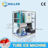 Máquina de hielo comestible del tubo de la alta calidad 1tons