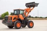 Carregador pequeno superior da roda de Qualtiy 3 toneladas para a venda com vários acessórios