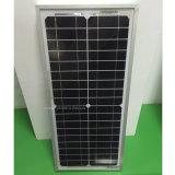 Цена 20W 12V Китая самое дешевое панель солнечных батарей 1 AMP Mono малая