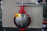 Клапан-бабочка рукоятки нержавеющей стали при одобренный ISO Ce (D7A1X-10/16)