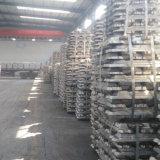 Lingot en aluminium pur 99.7% mn, lingot d'aluminium de qualité