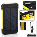 10000mAhトーチライト携帯用緊急のRoHSの太陽電池の電話充電器力バンク