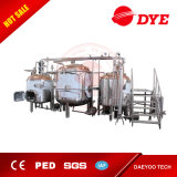 Feito na China Turnkey Beer Brew Equipment Red Copper Commercial Pub Beer Brewery Equipment