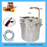 Kingsunshineによって18L/5galは蒸溜水のための密造酒の蒸留器装置がかアルコールまたはHydrolatまだ家へ帰る