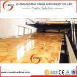 Chaîne de production de marbre d'imitation de feuille/plaque de PVC