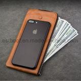 Cassa del telefono del cuoio di alta qualità dell'OEM della fabbrica per il iPhone