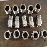 Fabricante acanalado anular de la guarnición de manguito del agua del níquel 3/4 del acero de carbón ''