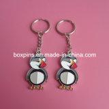 Metallvogel-Decklack-Schlüssel-Charme-Anhänger Keychain