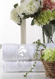 最高のホテルの100%年綿のドビーのジャカード手タオル、浴室タオル、卸売のための表面タオルセットの