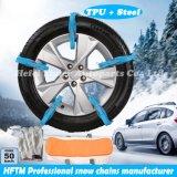 セリウムによって証明される雪のタイは生産者TPUの雪鎖を強打する
