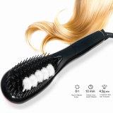 Peigne électrique de vapeur du cheveu 2016 redressant le balai de cheveu droit automatique de peigne de fers avec le balai de peigne de cheveu droit d'écran LCD